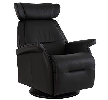 Amazon.com: Fjords Miami Small Leather Power Swing Relaxer Recliner