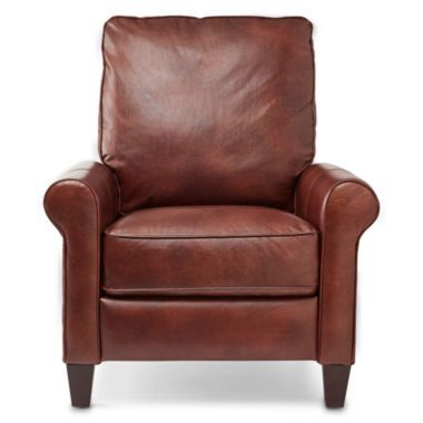Petite Leather Recliner found at @JCPenney | Living Room | Pinterest
