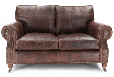 Get an aesthetic and trendy look with small leather sofa ...