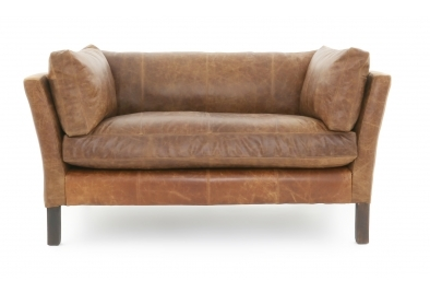 Small Leather Sofas | Handmade Leather Sofas | Old Boot Sofas