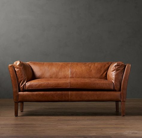 it's just logic people. | For The Home | Leather sofa, Sofa, Tan