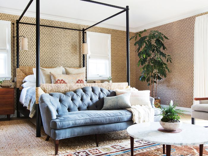 15 Small Couches for Bedrooms for Your Ultimate Sanctuary | MyDomaine