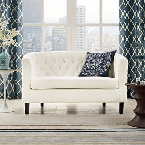 Why you should consider a   small modern loveseat for your home