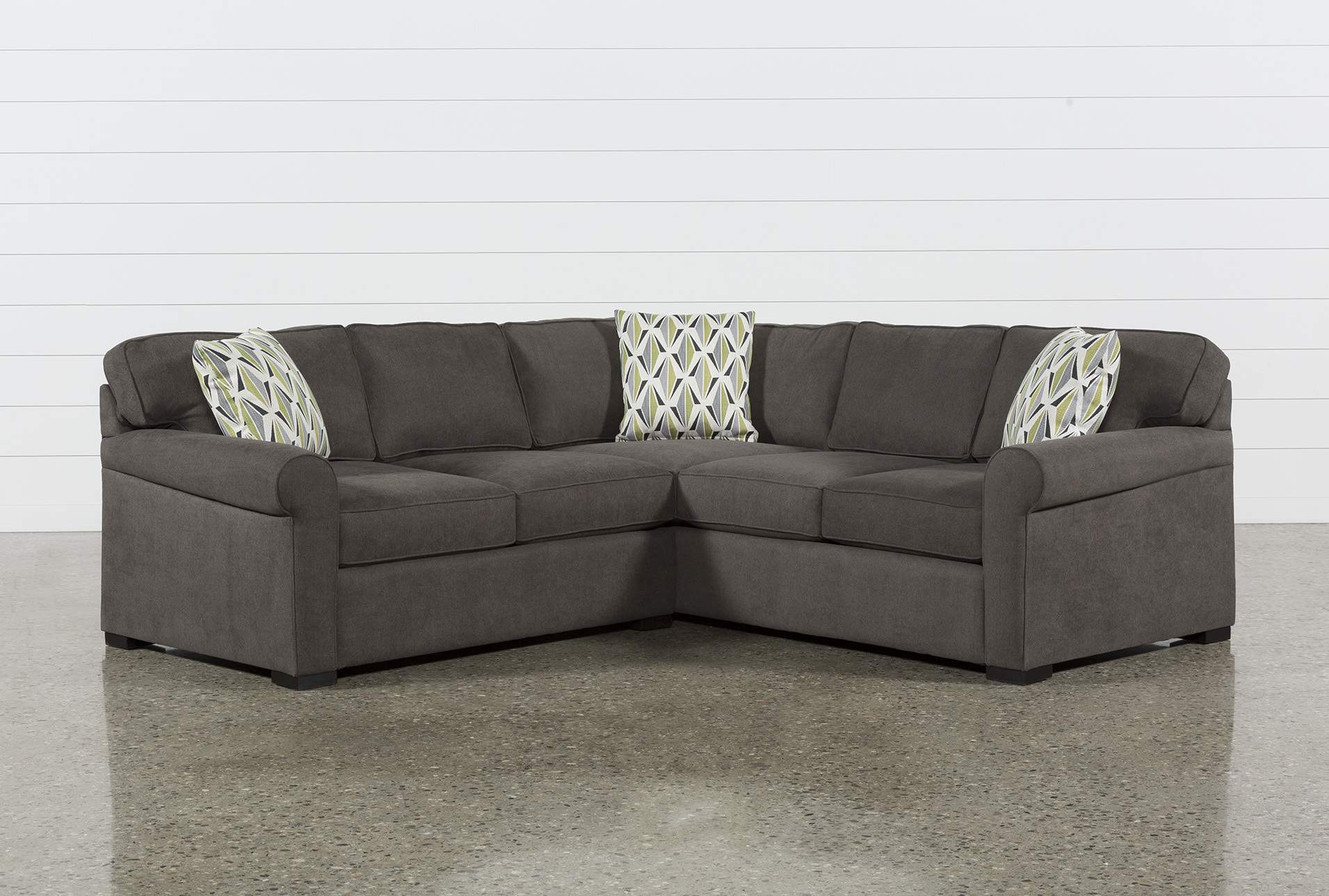 Extra seating with small   sectional sofa beds