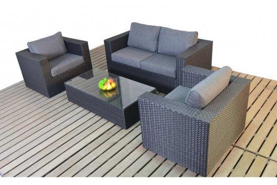 WGF Prestige Small Sofa Set | Garden Seating |