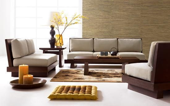 Wooden Sofa Sets For Living Room | 90210