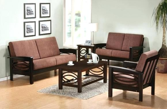 Sofa Sets For Small Living Rooms Simple Wooden Sofa Set Designs