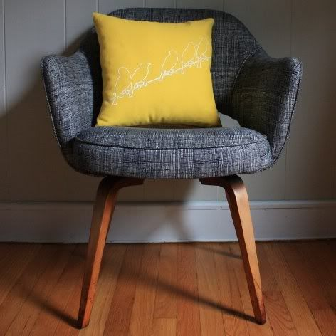 Small, upholstered chair option | Home Decor | Pinterest | Cool
