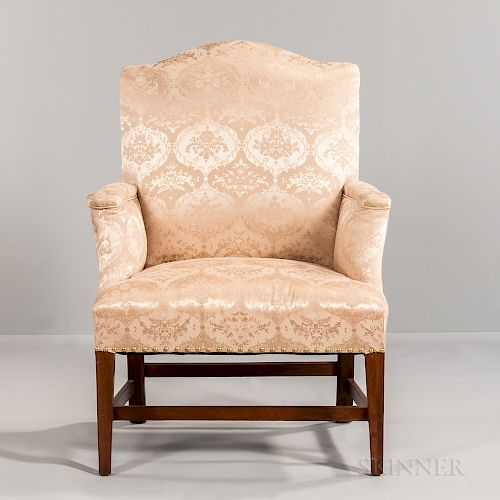 Small Upholstered Armchair by Skinner - 1302871 | Bidsquare