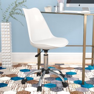 Small White Desk Chairs You'll Love | Wayfair