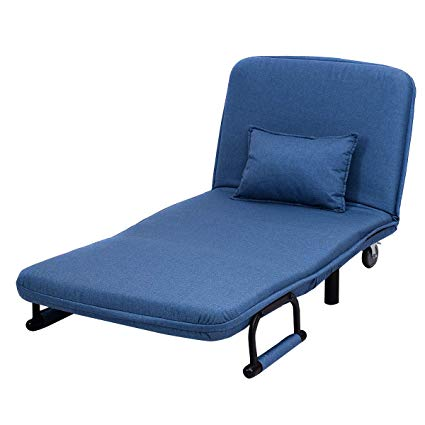 Amazon.com: 2in1 Portable Convertible Couches Sleeper Kip Chair Sofa