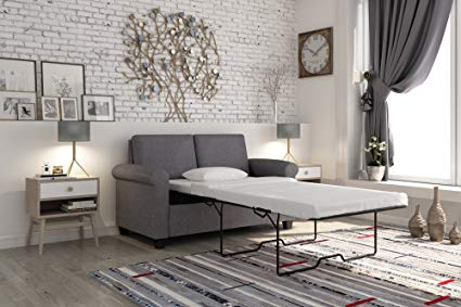 Amazon.com: DHP Premium Sofa Bed, Pull Out Couch, Sleeper Sofa with