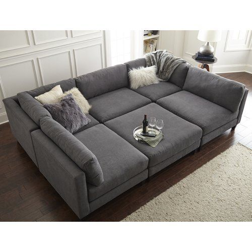 Chelsea Reversible Sleeper Sectional with Ottoman | Home ideas