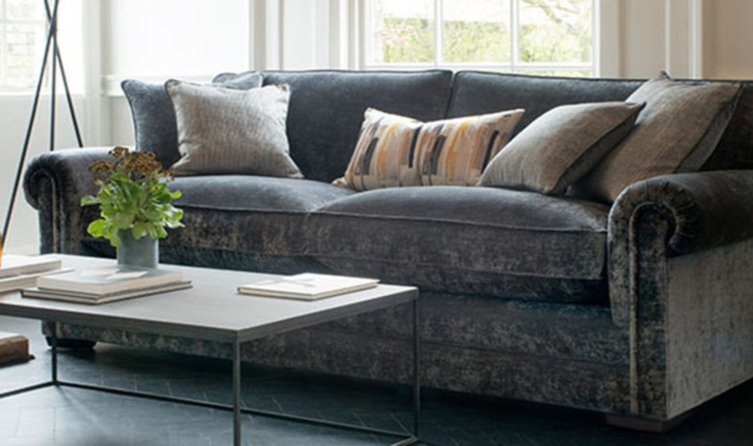 Different types of sofa cushions