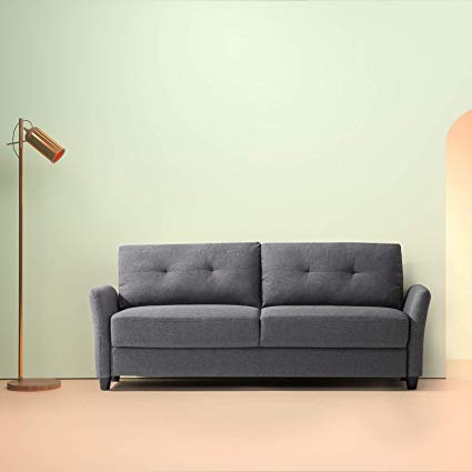 Amazon.com: Zinus Ricardo Contemporary Upholstered 78.4 inch Sofa