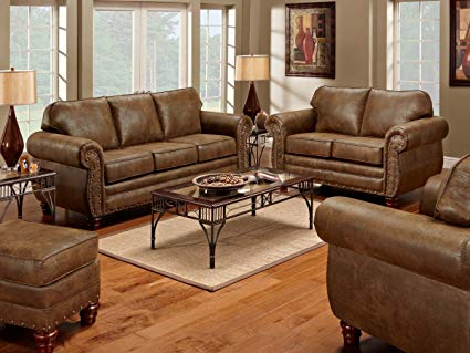 Amazon.com: American Furniture Classics 4-Piece Sedona Set with Sofa