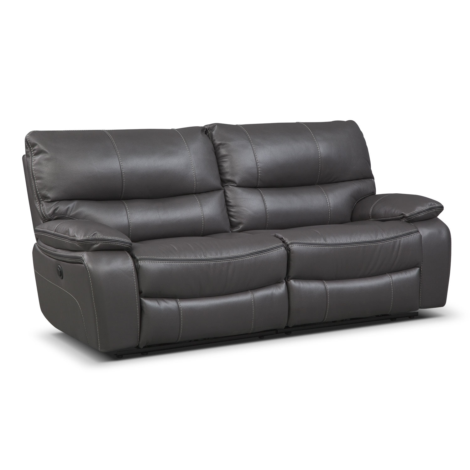 Orlando Power Reclining Sofa | Value City Furniture and Mattresses
