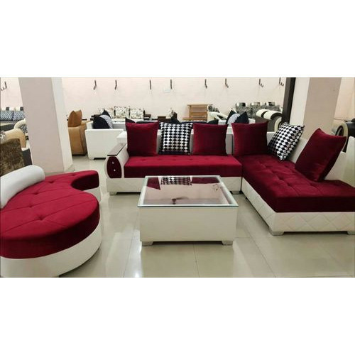 Maroon,Cream Drawing Room Sofa Set, Rs 28000 /set, Shree Siddhi