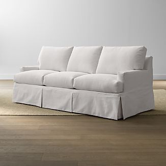 Slipcovered Sofas | Crate and Barrel