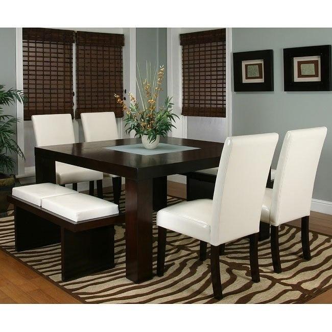 Kemper Square Dining Room Set (Ivory) by Cramco   FurniturePick
