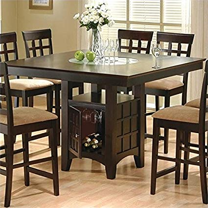 Amazon.com - BOWERY HILL Counter Height Square Dining Table with