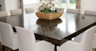 Simple of 12 Seater Square Dining Table Dining Room Table For 12 12