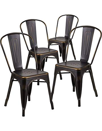 Stacking Chairs | Amazon.com | Office Furniture & Lighting - Chairs