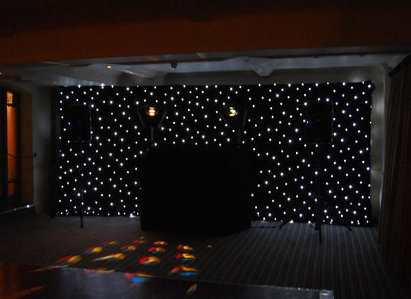 LED Star Curtain 10ft x 10ft