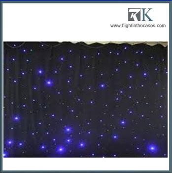 Theatre Backdrop Light Fiber Optical Star Cloth/led Star Curtain