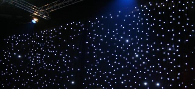 LED Star Curtain «