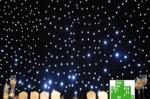 LED Star Curtain u2013 Big City Lights