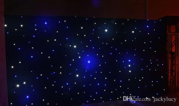 20 Square Meters Fantasy Star Blue White Color LED Curtain Wedding