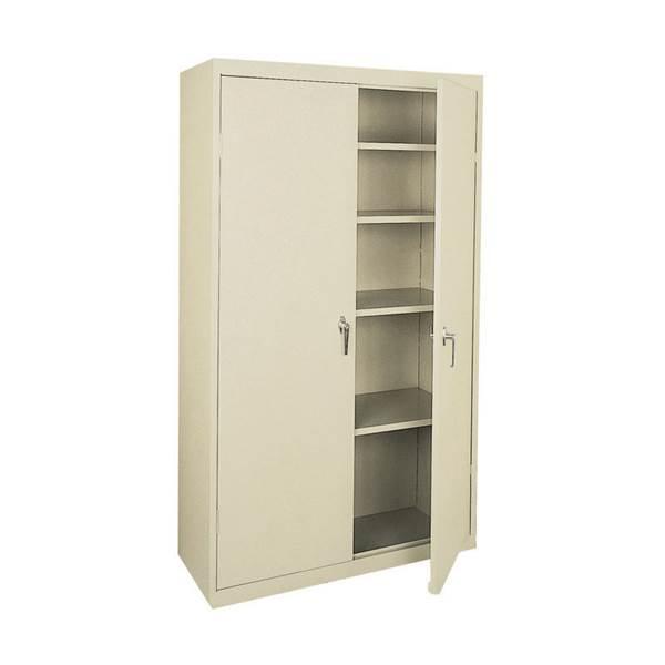 Sandusky Lee Four Shelf Steel Storage Cabinet