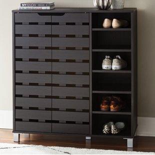 Tall Shoe Storage Cabinet   Wayfair