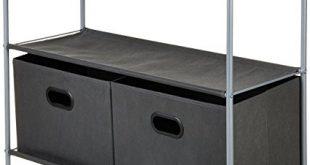 Amazon.com: AmazonBasics Closet Storage Organizer with Bins: Home