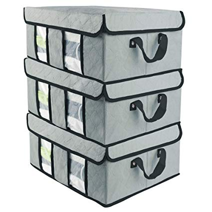 Amazon.com: SOFTaCARE Storage Bags 3-Pack u2013 Closet Organizer