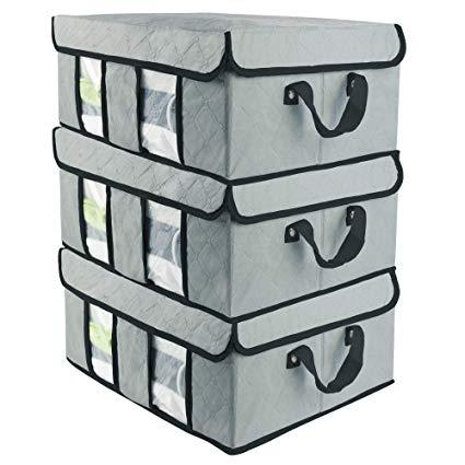 Amazon.com: SOFTaCARE Storage Bags 3-Pack u2013 Closet Organizer