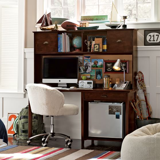 Chatham Large Snack + Study Desk + Hutch | PBteen