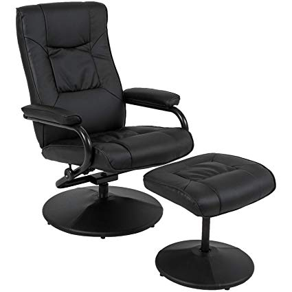 Amazon.com: Best Choice Products Leather Swivel Recliner Lounge