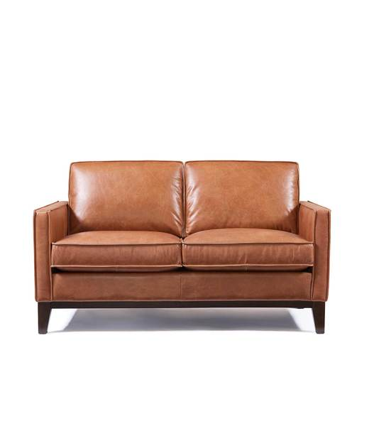 Paladin Leather Loveseat u2013 Downeast