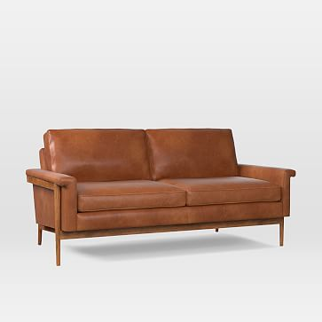 Why people should invest in   the tan leather loveseat