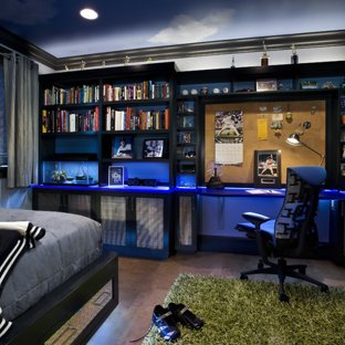 Teen Boy's Bedroom - Contemporary - Kids - San Francisco - by TRG