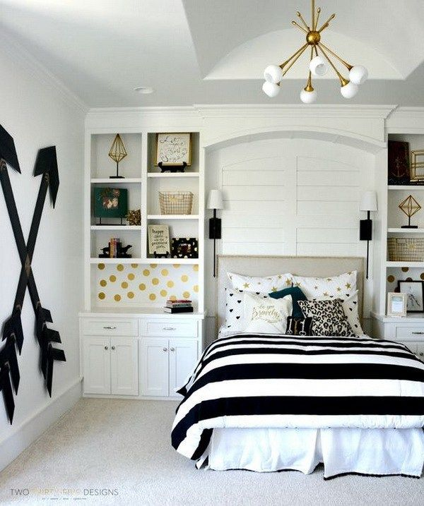 40+ Beautiful Teenage Girls' Bedroom Designs | For the Home