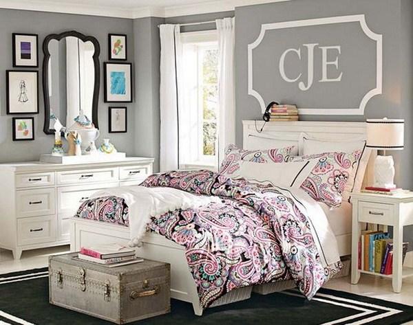 Indulgence of colors in teenage girls bedroom ideas - CareHomeDecor