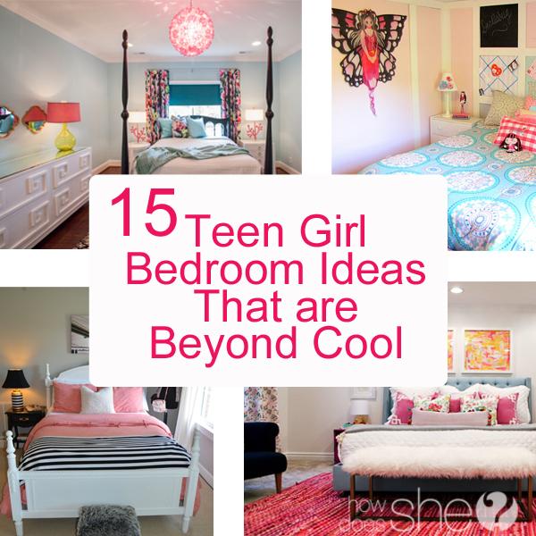 Teen Girl Bedroom Ideas - 15 Cool DIY Room Ideas For Teenage Girls