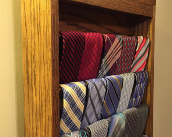 Tie rack   Etsy