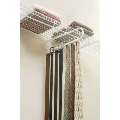 Tie Racks & Belt Racks - Closet Organizers - The Home Depot