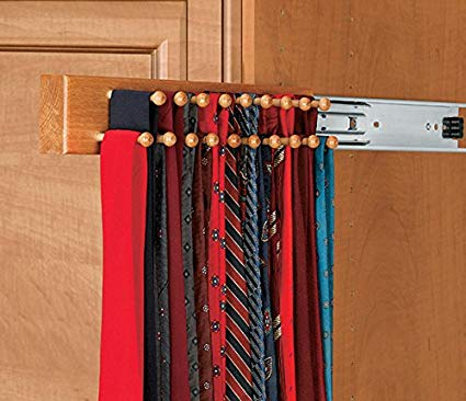 Amazon.com: Wood Tie Racks Side Mount: Home & Kitchen