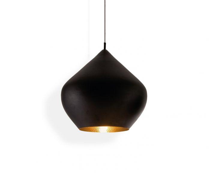 Beat Stout Black Pendant   Pendant Lights   Tom Dixon