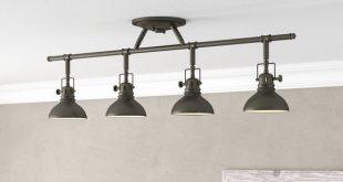 Beachcrest Home Dollinger 4-Light Fixed Track Lighting Kit & Reviews